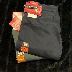 🏷 Dickies - Girls Dress Pants - NWT 2 Pair